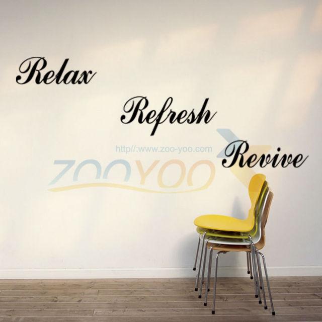 Расслабьтесь обновить оживление домашнего декора creativewall термоаппликации ZooYoo8141 декоративные adesivo де parede съемный виниловые наклейки