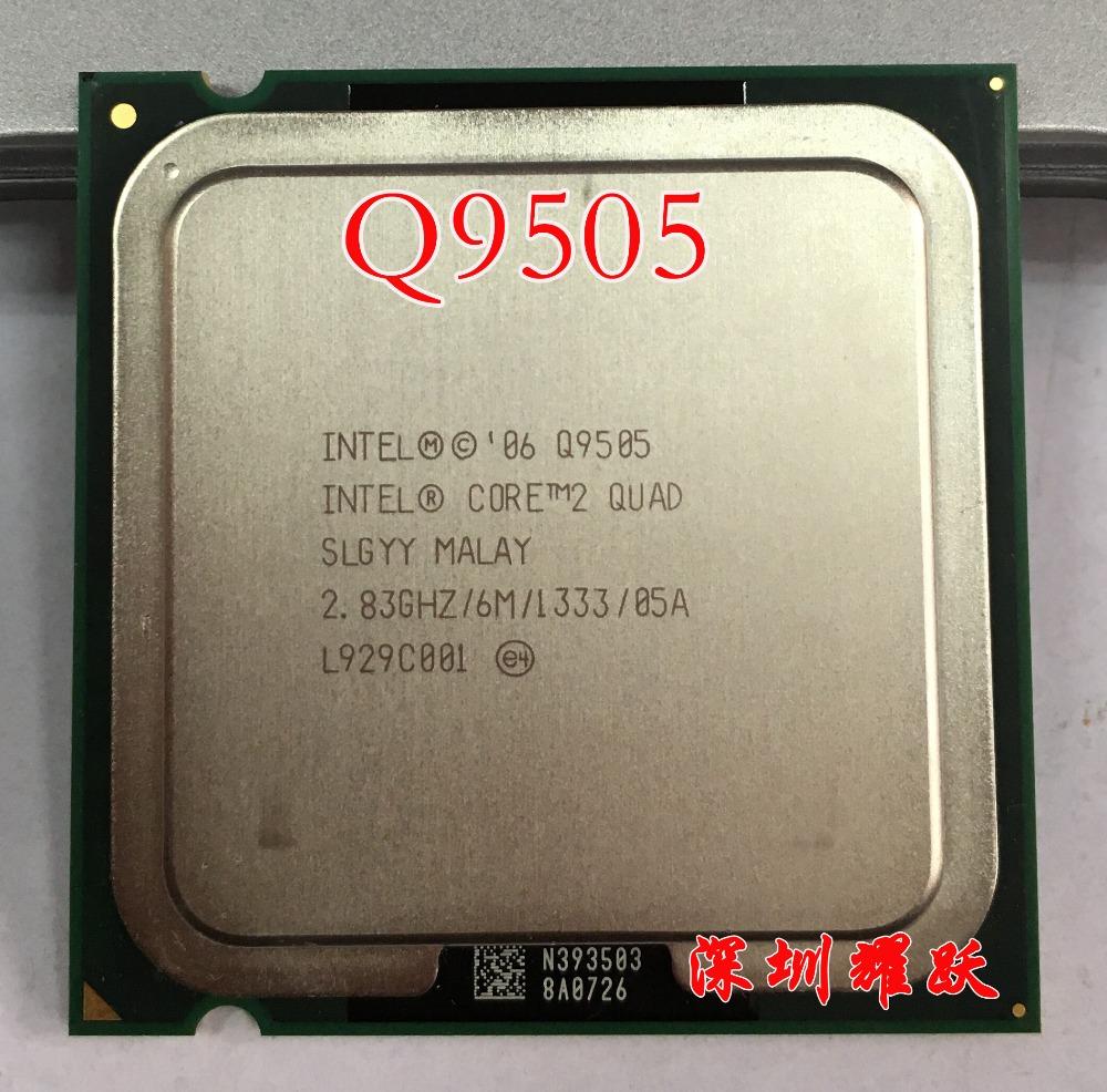 Intel Core2 Quad Processor Q9505 (6M Cache, 2.83 GHz, 1333 MHz FSB) LGA775 Desktop CPU(China (Mainland))