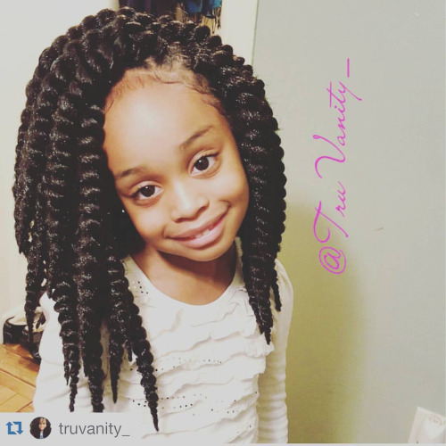 Crochet Hairstyles For Kids : twist-for-kids-synthetic-braids-pretwisted-braid-crochet-braiding-hair ...