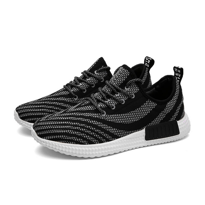 Фотография 2016 luminous running walking shoes style for man air mesh breathable comfort light weight stable flywire outdoors sports 257