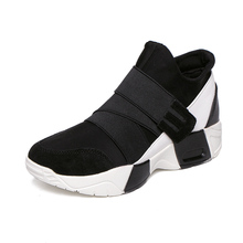 Yeezy Sale Breathable 2016 Spring And Autumn Shoes Casual Large Size 35-40 British Tide Women New Air Cushion Height Increasing(China (Mainland))