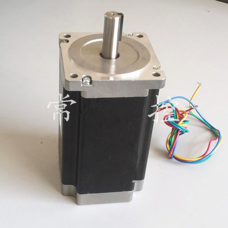 3pcs nema 34 stepper motor 86hs155 6004a single shaft for Nema 34 servo motor