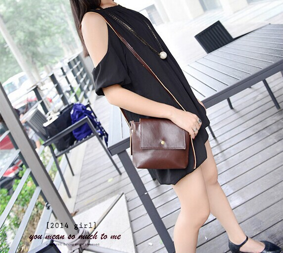 2015 JOY SHOP Vintage European Style All-match mine single-shoulder bag women messenger Bag - 2013 store