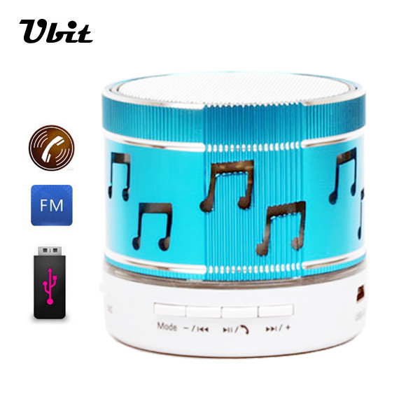 Brand Ubit Portable Bluetooth LED Wireless Speaker USB TF Card MP3 Audio Player With FM Radio Speaker For Computer Smartphone(China (Mainland))