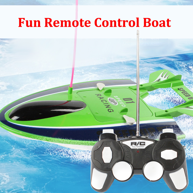 2016 Summer Kid Toys RC Championship Game Racing Surfing Boat Speed Up Ship Kid Gift carros de controle remoto eletrico juguetes(China (Mainland))