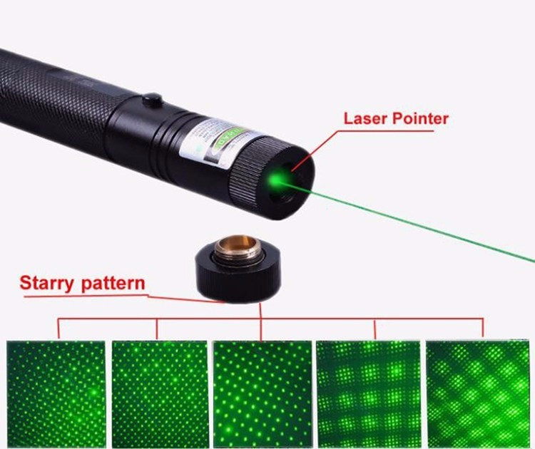 8000-10000 Meters! Long distance Green 303 Laser Pointer 532nm Powerful Laser Sight Rifle Scope Riflescope(Battery not included)