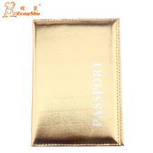 Buy Zongshu Hot Women & Men Fashion PU Leather Travel Passport Holder Cover ID Card Bag Passport ID Card Protective Sleeve for $2.45 in AliExpress store