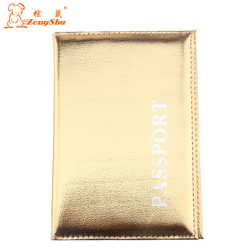 ZS Hot Women & Men Fashion PU Leather Travel Passport Holder Cover ID Card Bag Passport ID Card Protective Sleeve(China (Mainland))