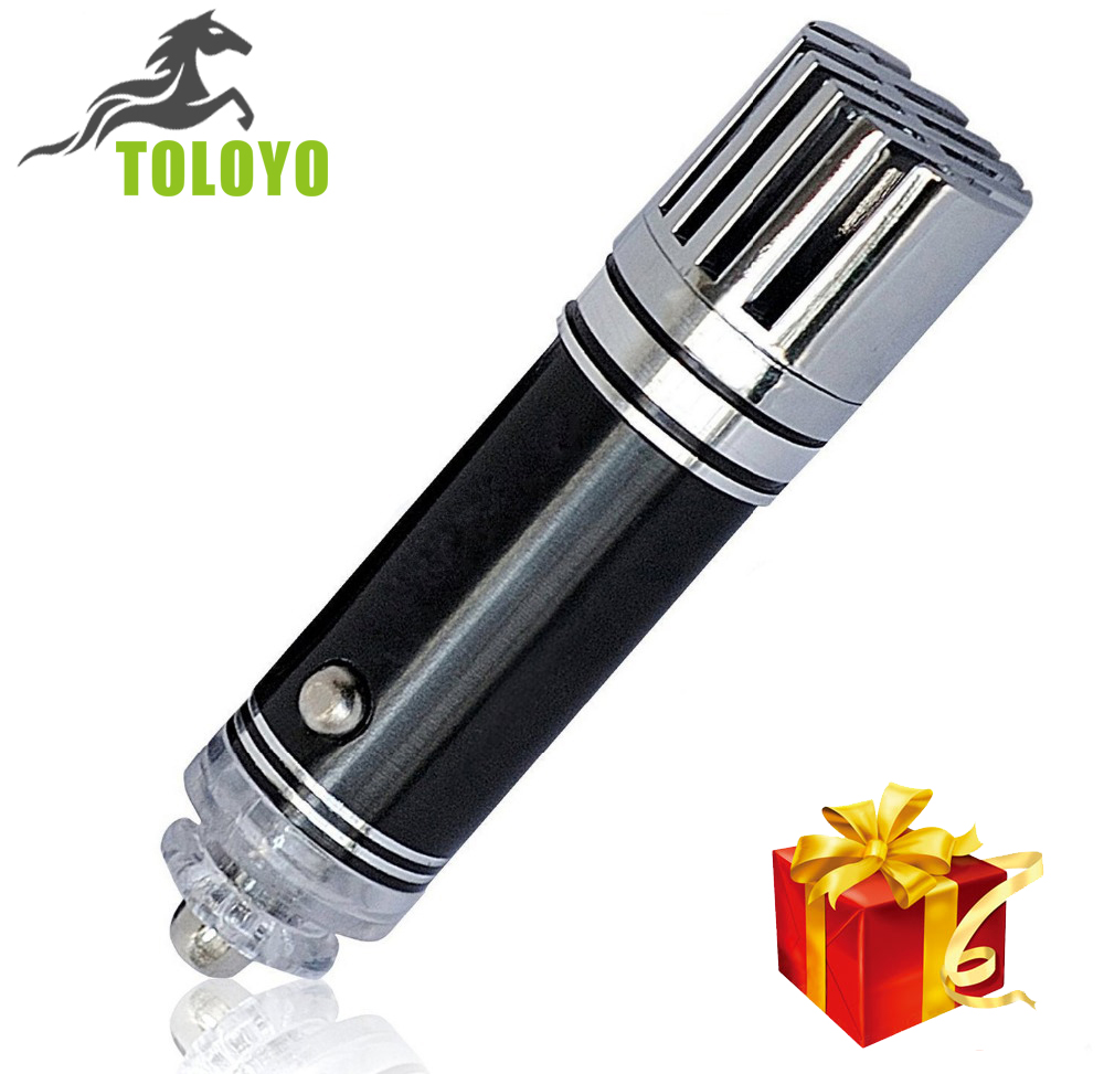 TLY-28 Car Air Ionizer Purifier for Auto Home and Office Air Negative Lonizer Car Plug in Air Freshener and Odor Eliminator(China (Mainland))