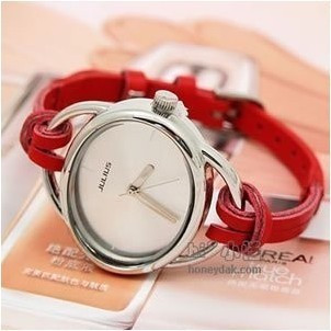 Free shipping HOT 10 colors Ladies Leather Strap Watch ,alibaba express HOT!hand-knitted leather  women' watch 10pcs/lot