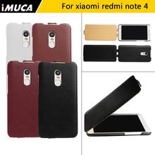 Buy iMUCA phone cases Xiaomi redmi note 4 case cover flip leather case Xiaomi redmi note 4 pro redmi note 4 prime luxury case capa for $6.04 in AliExpress store