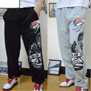 2013 athletic male casual basketball pants sport trousers men pants fashion military clothing for men hip-hop clothing D110