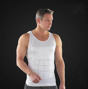 Боди мужчины телевизор хорошая для похудения жилет рубашка жирных нательное бельё ...