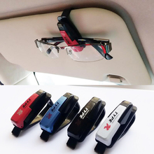 cheap price Car styling accessories glasses clip Car Sun Visor Glasses Sunglasses Ticket Receipt Card Clip Storage Holder