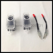 RS logo LED projector light AUDI ghost shadow Q3 Q5 Q7 R8 A1 A3 A4 A4L A5 A6 A6L A7 A8 - Car-refine International Co.,Ltd. store