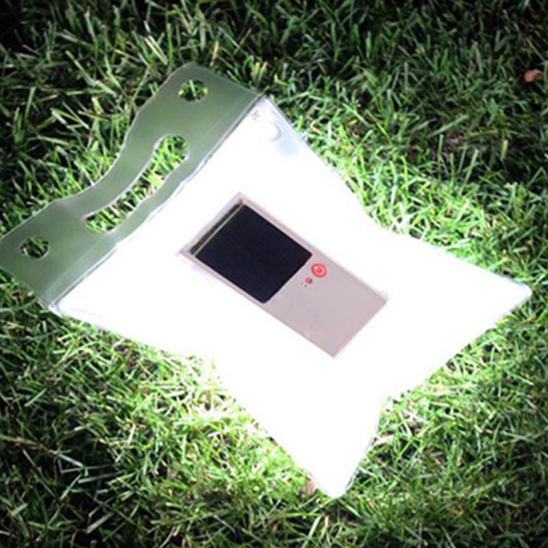 1Pcs Newest Portable 800mAh Outdoor Solar Charger LED Lamp Light Garden Lighting Solar Lantern Camping Lights(China (Mainland))
