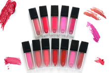 12pcs set batom matte Lipstick non stick cup lip balm brand makeup for 24 hours long