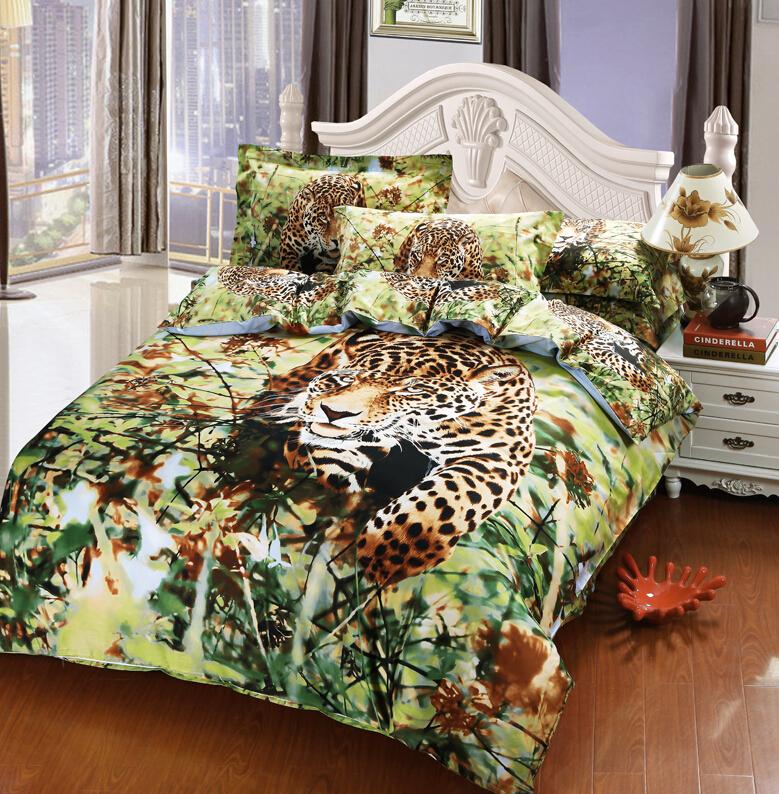 online kaufen gro handel full size leopard comforter aus china full size leopard comforter. Black Bedroom Furniture Sets. Home Design Ideas