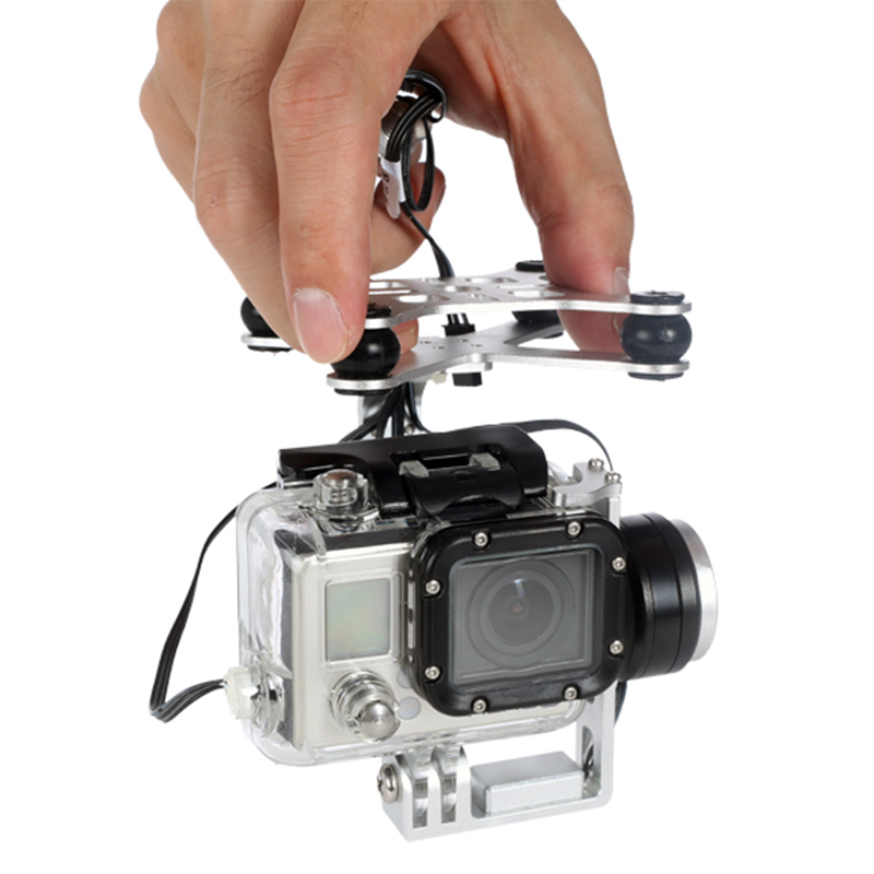 Swellpro Splash Waterproof 2D Gimbal for FPV Quadcopter Rc Helicopter Drone with Camera Splash Waterproof Drone Drop Shipping