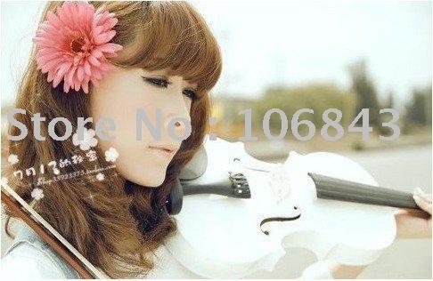 Free shipping~Fashion hair accessories,Large daisy flower Hair ring,hair clip, hair flower 100pcs/lot+free gifts