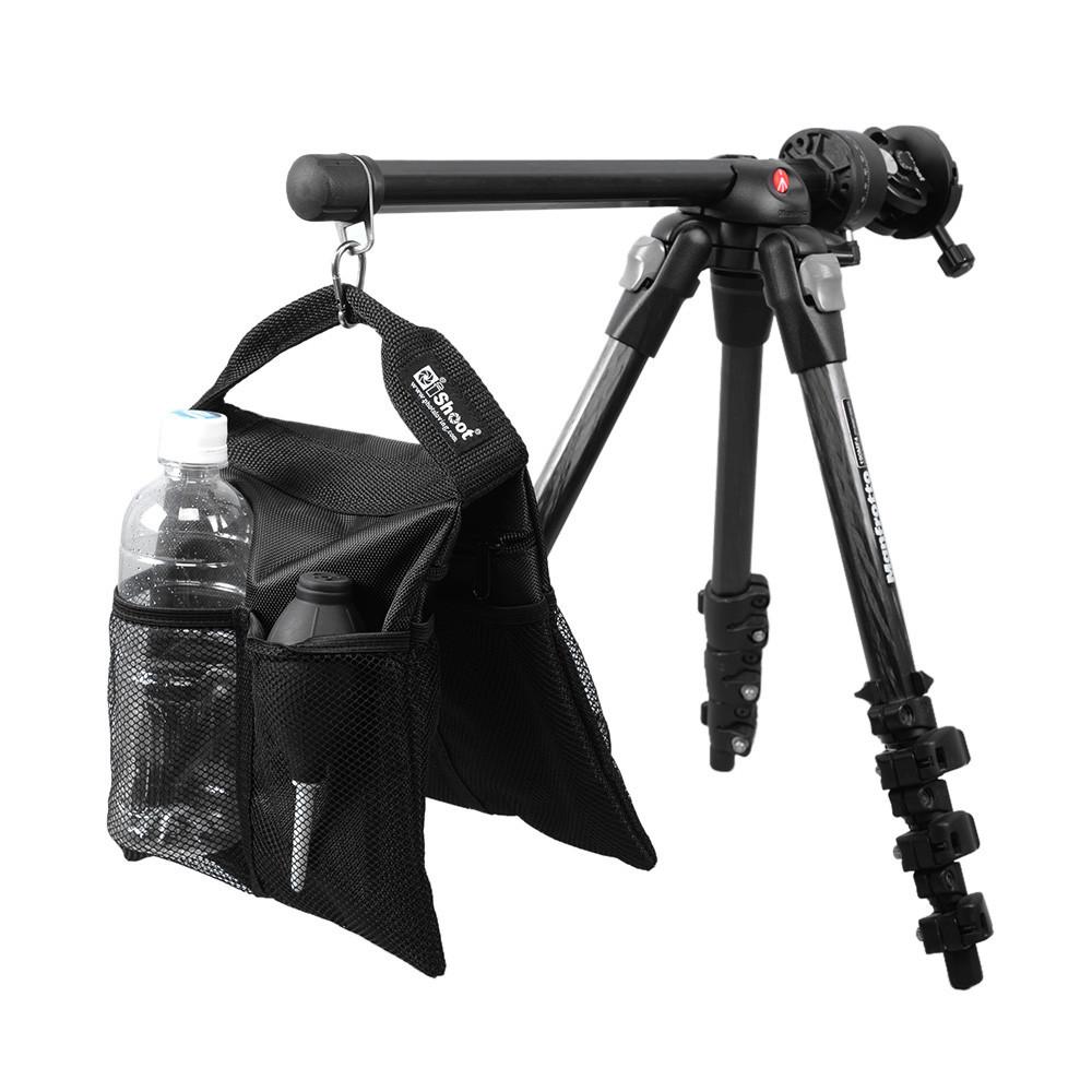 iShoot Portable 2-in-1 Stuff Sack and Counter-balance Weight Sandbag Sand Bag for Camera Tripod Photo Studio Light Stand Boom