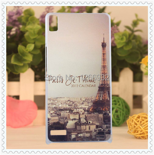 Huawei P6 Flower/Rose Fantastic Fashion Colorful Mobile Phone Cases Ascend Hard Plastic PC Back Case Cover - Johnny08Store store