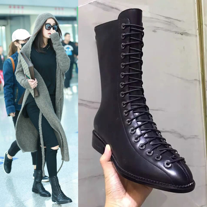 High Quality Lace up Combat Boots Women-Buy Cheap Lace up Combat ...