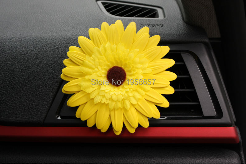 New Brand design Super Large Flower Car Vent perfume comfortable feeling Air Freshener Auto accessories(China (Mainland))