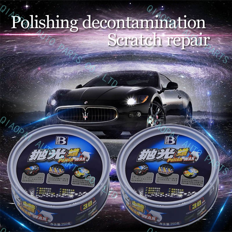 Car Styling Polishing wax polish curing product textured auto paint care solid with sponge recover back to gloss scratch repair
