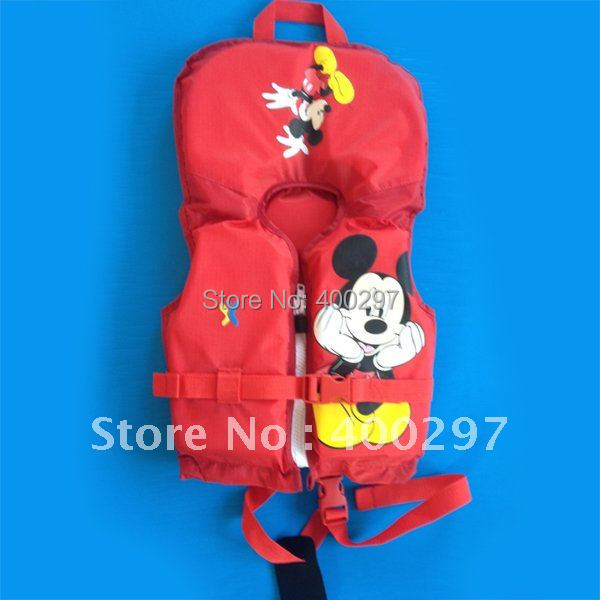 2014 Shakoo first season infant/baby life vest life jacket cartoon sheep swim vest red
