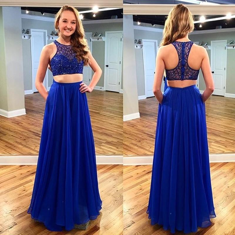 B g prom dresses 2 piece