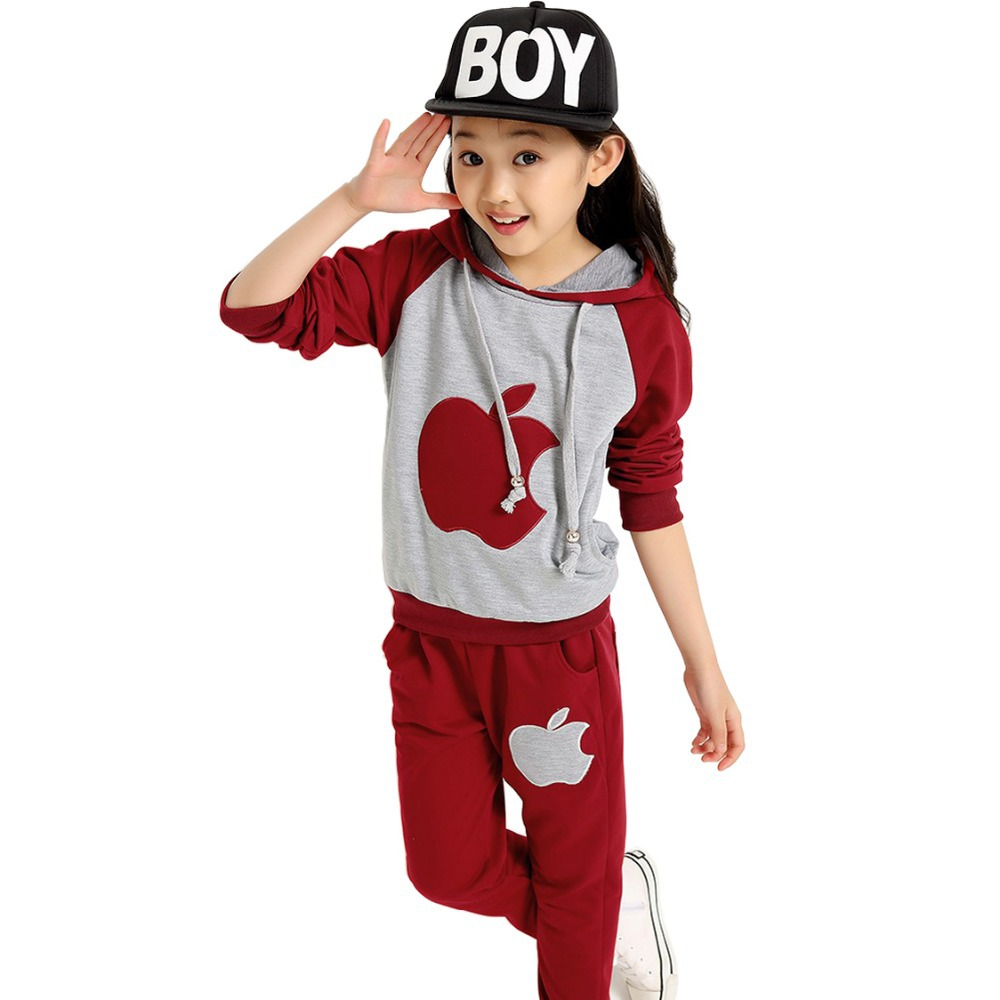 2015 children sets summer style baby boy fashion boy clothe hooded boys clothes hooded girls clothes cotton babys girl clothing(China (Mainland))