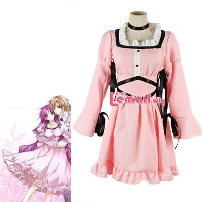 Short Sleeve Pink Anime Future Diary Mirai Nikki Uryuu Minene Cosplay Dress CostumeОдежда и ак�е��уары<br><br><br>Aliexpress