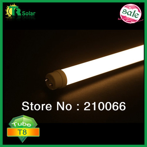 LED tube SMD2835 T8 19W1.2m 96pcs High power leds AC100-240V white cover Bedroom bulbs tubes light bulb 4pcs/lot Freeshipping