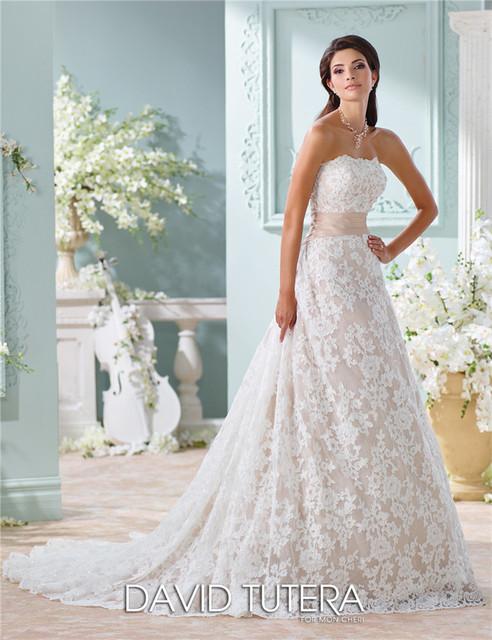На заказ элегантный линии без бретелек рукавов светло-розовый аппликации кушак свадебное платье Vestido де Casamento IV079