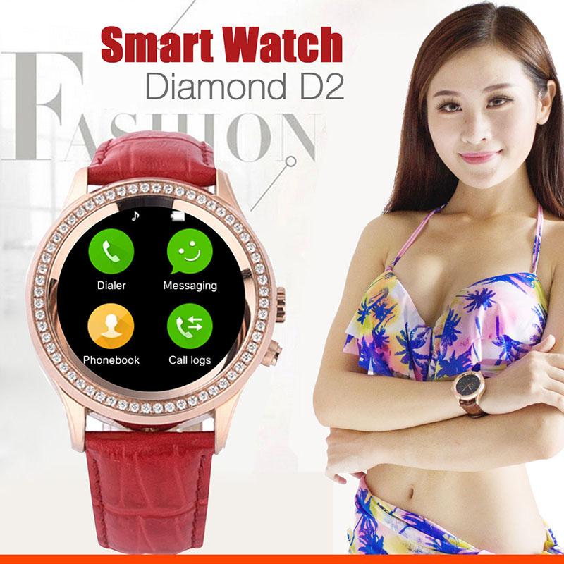 Здесь можно купить  Cute Women SmartWatch NO.1 D2 MTK2502 UV Detect CVC6.0 Capacitive Touch Screen Camera Bluetooth 4.0 Waterproof Health Monitoring  Бытовая электроника