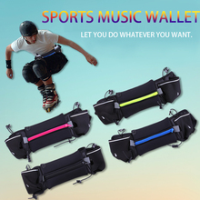 Waterproof anti - theft mobile phone bag sports water bottle purse men and women close invisible multi - functional package(China (Mainland))