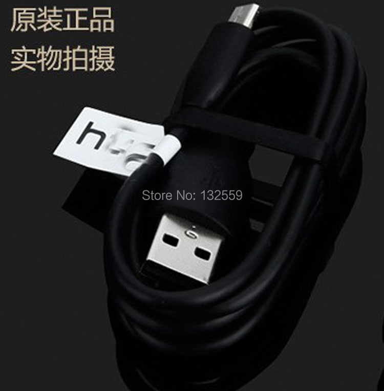 Original USB date cable for HTC 5V 1.5A TC P900-EU and USB Cable DC M410 For HTC One X S V M7 M8 M9 One A9,20pcs free shipping(China (Mainland))