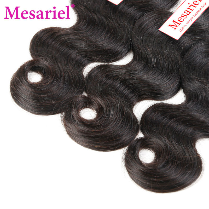 Ms Ariel Hair Products Cheap Peruvian Body Wave 3 Bundles Peruvian Virgin Hair Body Wave Natural Black Human Hair Weave Bundles