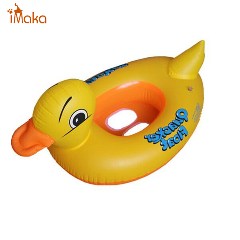 Animal Duck Shape cute kid baby swimming ring seat child pool inflatable toys Circle Ring seat float water Swim Ring(China (Mainland))