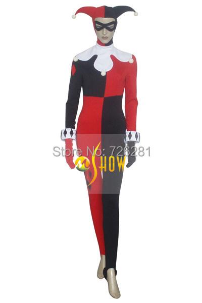 Здесь можно купить  Batman Harley Quinn Dr. Harleen Quinzel Cosplay  Costume Batman Harley Quinn Dr. Harleen Quinzel Cosplay  Costume Одежда и аксессуары