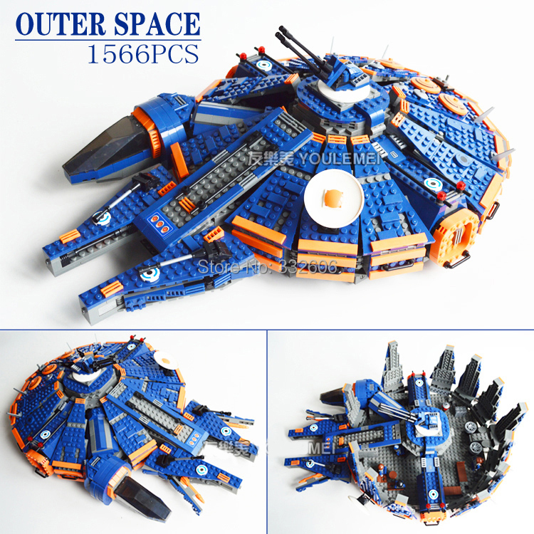 Ausini Outer Space Building Blocks Ship Construction Sets Hot Toy Children Model Kits Christmas Gift - C&T Toys store