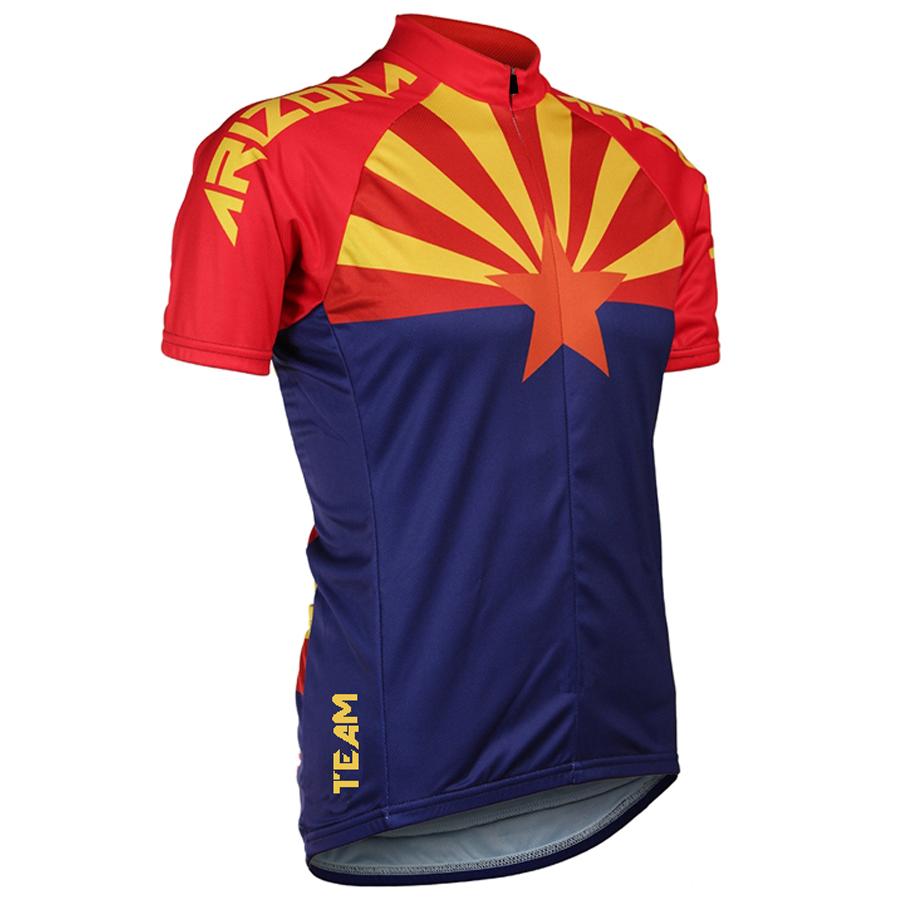 MARTIN FOX 2017 NEW Arizona State Men's jerseys Sleeve cycling jersey MTB / road cycling clothing jerseys sleeve blue cycling Ra(China (Mainland))