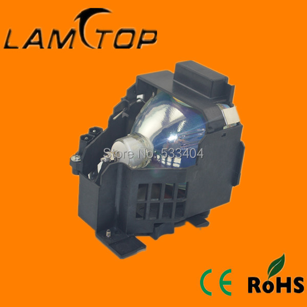 Фотография Free shipping  LAMTOP compatible   projector lamp  with housing/cage  ELPLP15 for  EMP600