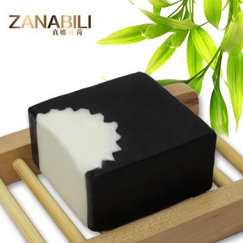 Горячая распродажа натуральный черный бамбуковый уголь для лица и тела мыло для акне и удаление угрей бесплатная доставка