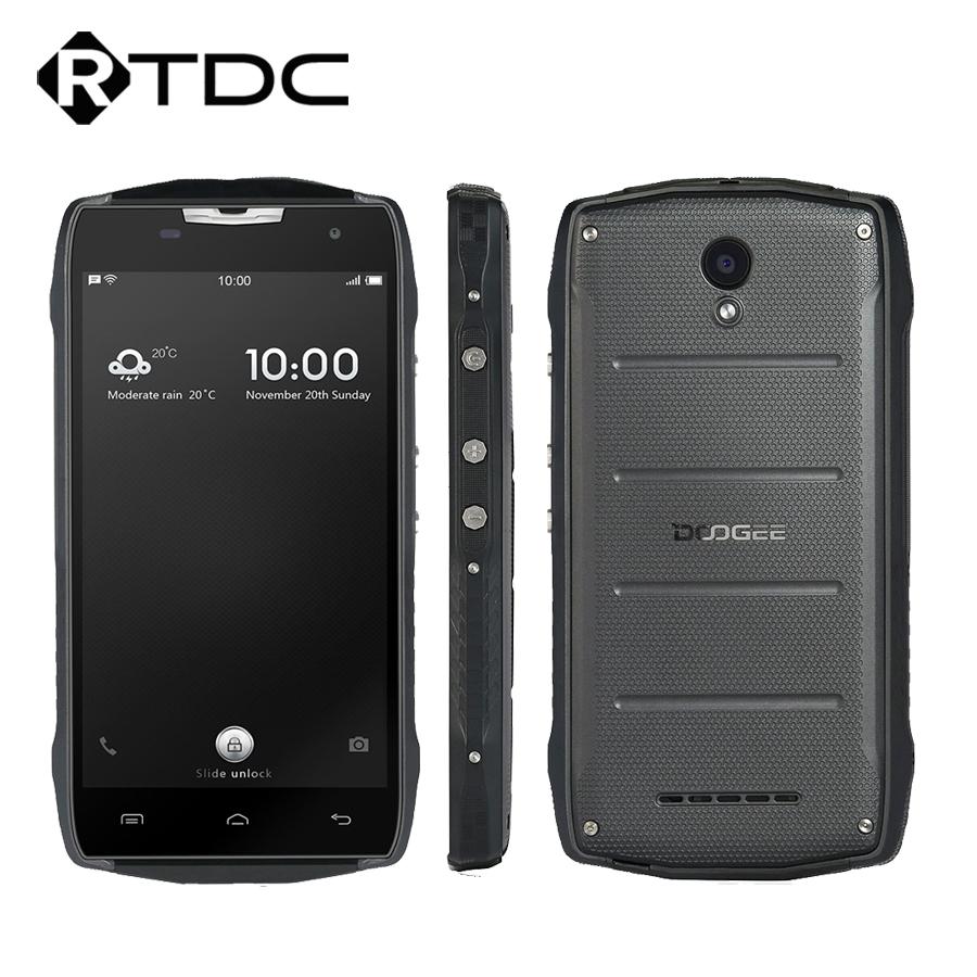 "Original Doogee T5S 5.0""HD Quad Core 2GB RAM 16GB ROM MT6735 Android 6.0 8.0MP 1280x720 4500mAh IP67 Waterproof Mobile Phone(China (Mainland))"