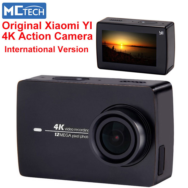 original xiaomi yi action camera 4k xiaomi yi 2 camera sport xiaomi action cam 4k wifi ambarella. Black Bedroom Furniture Sets. Home Design Ideas