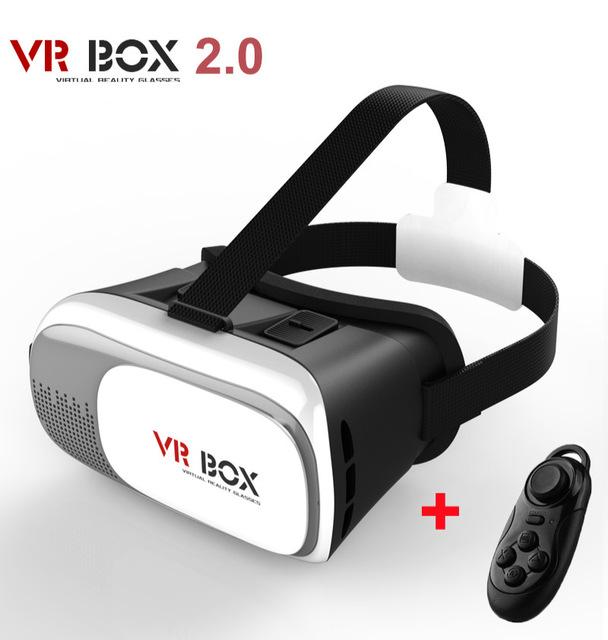 New Virtual Reality VR BOX II 2 0 Version 3D Glasses Google Cardboard VR Glasses 3D