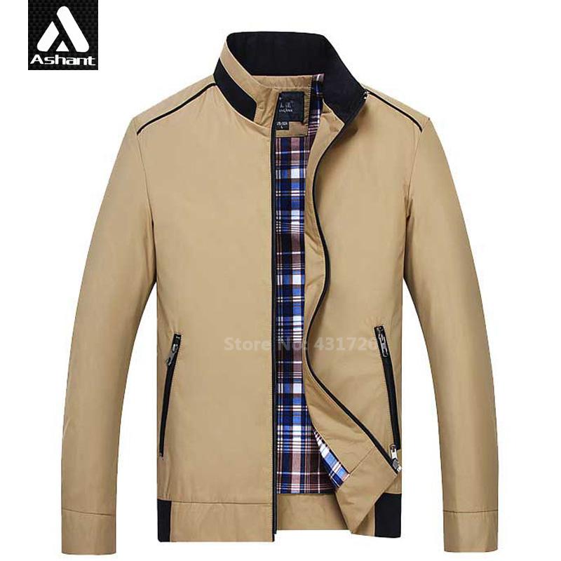 New Arrival Men's Autumn Jacket Plus Size XXXXL 5XL 6XL 7XL Big Man Fashion Khaki Mandarin Collar Coat