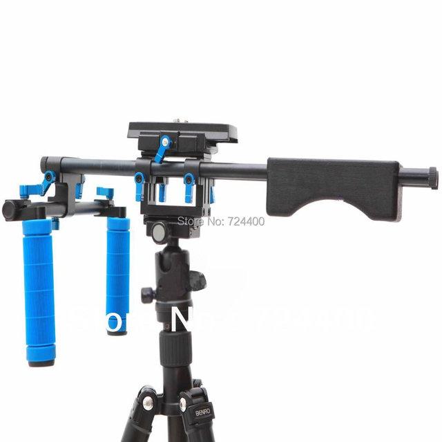 Slider [drop Shipping] Dslr Rig Rl-04 Bracket Camera Stabilizer Kit Video Shoulder Pad Accessories Report Center 30200010 Acro